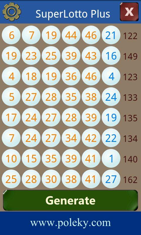 Advanced number generator - toc