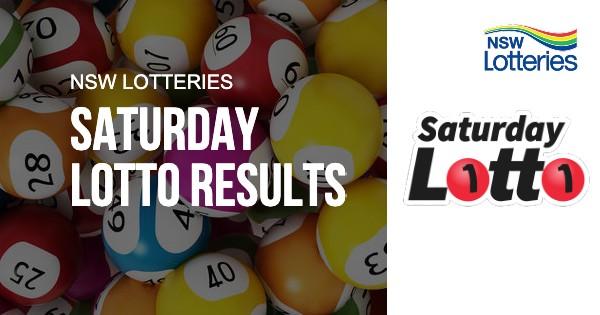 Lottery results saturday, saturday night lotto results, saturday lotto results nsw