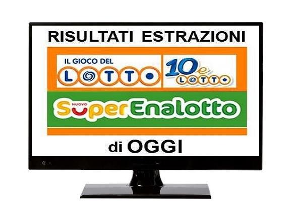 Estrazioni lotto :: notizie su today